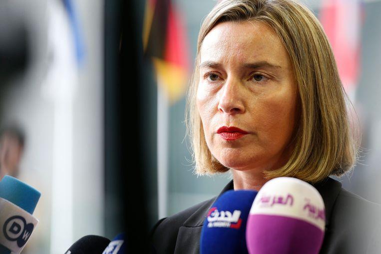 """""""De beslissing is een aanmoediging voor deze landen om de hervormingen voort te zetten"""", aldus Federica Mogherini."""