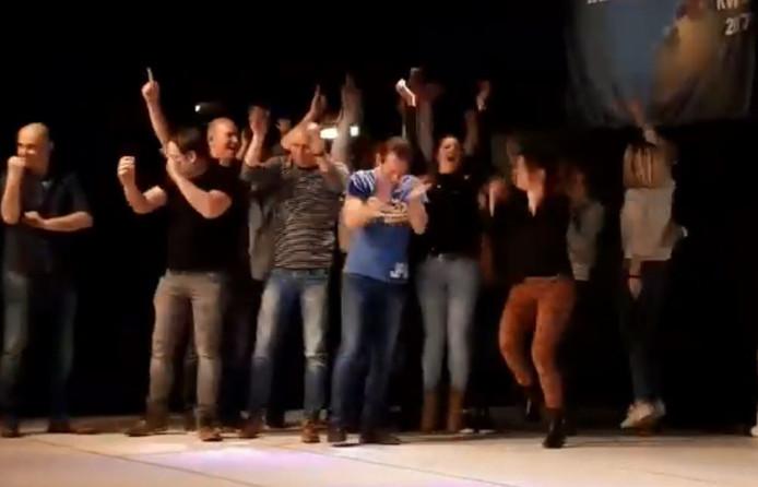 De winnaars van Volledig Incorrect.
