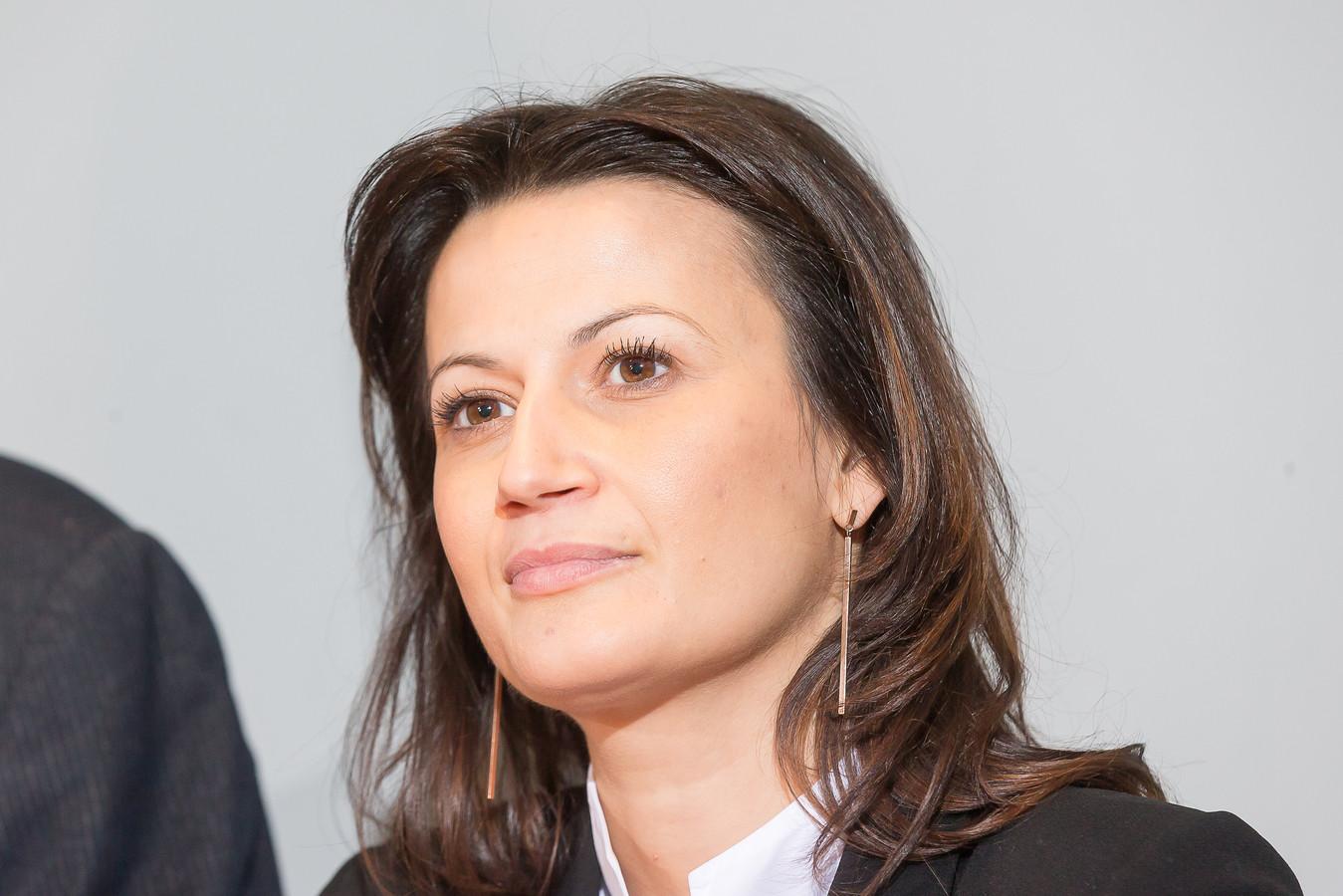 Stephanie D'Hose is kandidaat om voorzitter van de Senaat te worden.
