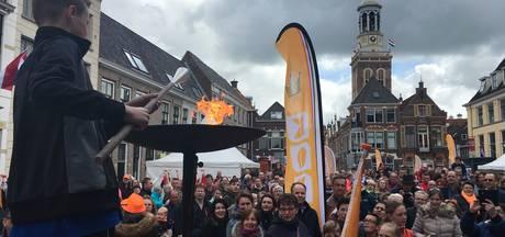 Muziek en sport kleuren Koningsdag Kampen
