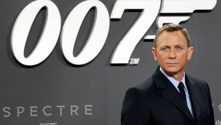 Daniel Craig wordt nog een keer James Bond Beeld ap