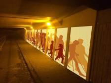 Tunnel Borne krijgt sfeervolle panelen