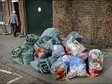 Afvalzakken uit straatbeeld in centrum Nijmegen