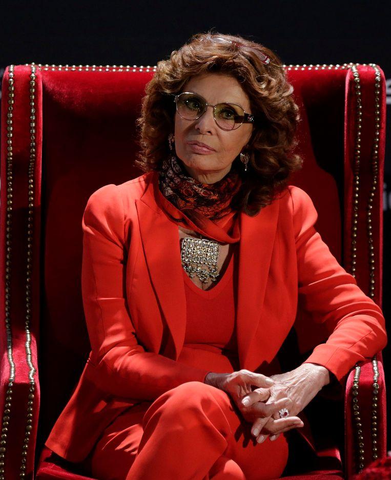 Sophia Loren.  Beeld Reuters