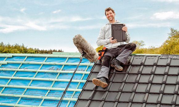 Ook dakwerker Bart De Rom uit Dilbeek is fan van de Stormpan Vario 18.