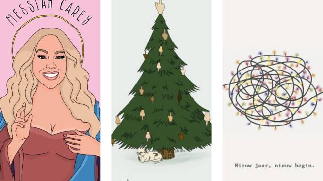 16 originele kerstkaarten van Belgische makelij voor een instant glimlach op je gezicht