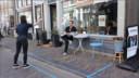 """Screenshot uit het filmpje """"Dordrecht Is Er Klaar Voor"""", van Dordtse horecaondernemers."""