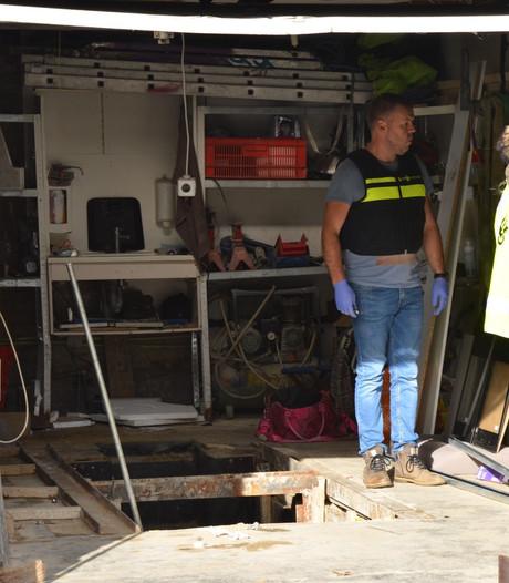 Drugslab ontdekt in garagebox in Etten-Leur