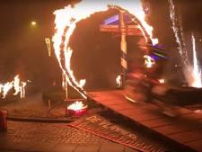 Geen vuurpijlen meer naast motorrijders: vuurwerkverbod bij stuntshow in Boekel tijdens jaarwisseling