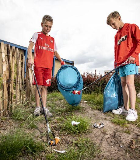 Als niemand het opruimt, doet Sven (12) uit Hengelo het wel:'Best veel toch?'