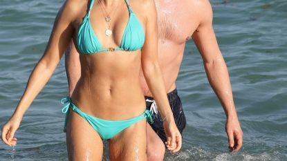 Sylvie Meis sluit het jaar naar goede gewoonte af op het strand van Miami