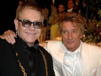 Rod Stewart en Elton John leggen ruzie bij