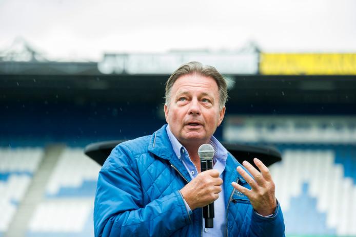 Co Adriaanse is een van de vijf trainers die zelf opstapte bij Willem II door voor zijn laatste wedstrijd niet op te komen dagen.