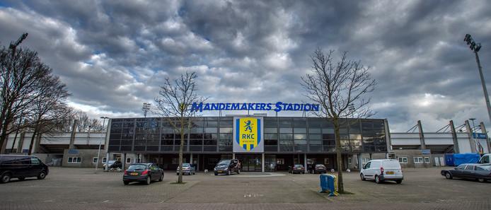 Het Mandemakersstadion in Waalwijk.