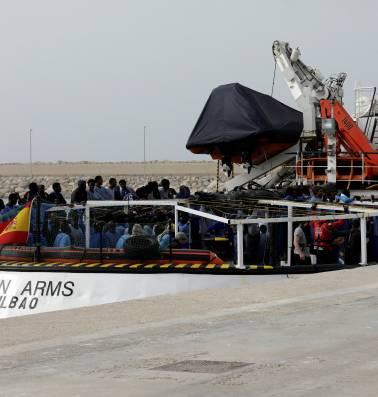 'Het einde van humanitaire reddingsoperaties zou weleens nabij kunnen zijn'