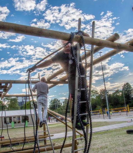 Spoorpark als 'sportpark': van obstakelbaan, speeltuin, yoga op het gras tot bijna alle strandsporten