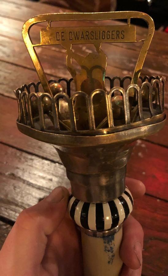 De scepter van de prins van Malden is spoorloos.  Eigen foto