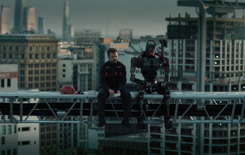 Aaron Paul (links) Beeld HBO