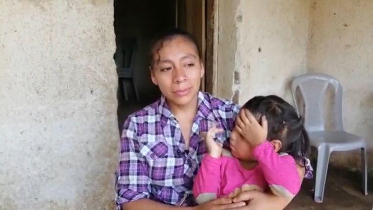 Cristians moeder Dora Estela Ortiz.