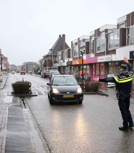 Strenge controle in Hoofdstraat Rijen na Rent-a-cop actie
