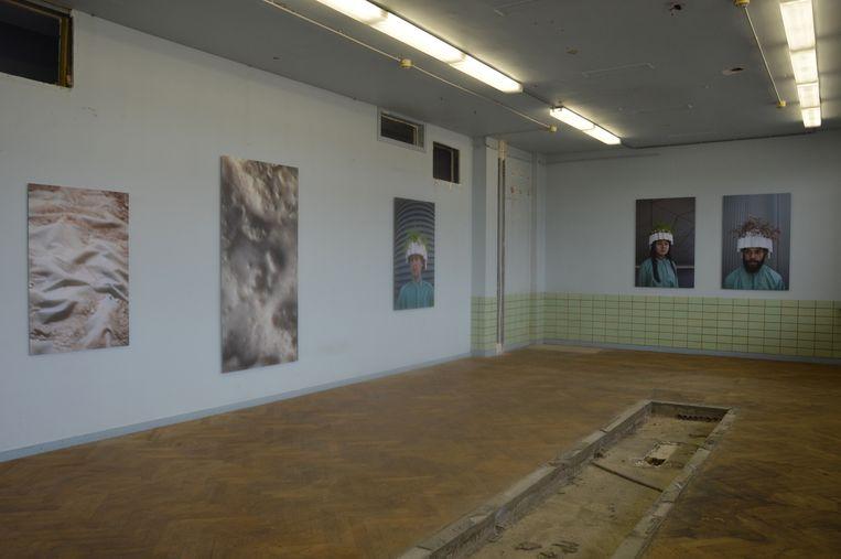 'Mixed media' van Sarah Westphal (DE) in het RTT-gebouw.