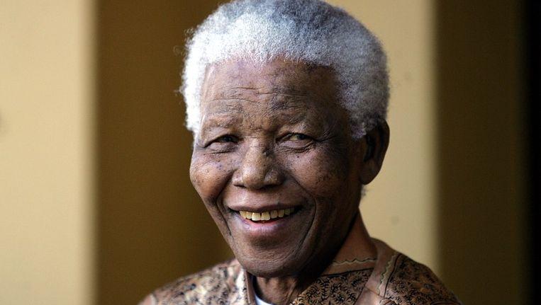 Nelson Mandela. Beeld afp