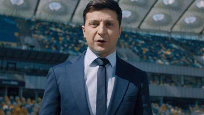 Presidentskandidaten Oekraïne gaan debatteren in grootste stadion van het land