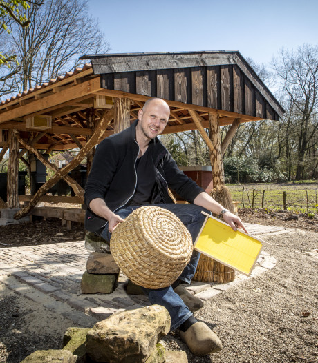 250.000 zwarte bijen helpen de natuur een handje in Hezingen