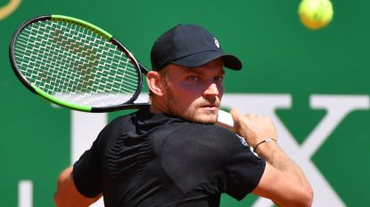 David Goffin verslaat Argentijn in Monaco en staat in tweede ronde