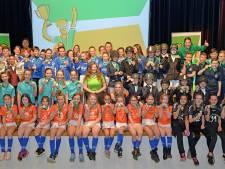 Alle Landerdse sportkampioenen op één podium
