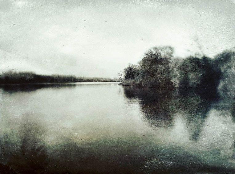 Eén van de foto's uit het boek van Boël, gemaakt in Mariekerke (Bornem).