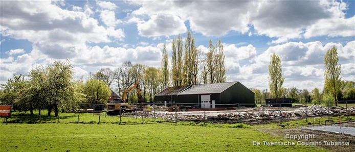 Omdat de locatie niet voor een langere periode beschikbaar is, voelt de gemeente weinig voor de realisatie van een zonneveld op het terrein van de voormalige boerderij Bartelink.