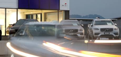 Volvo's waarschuwen elkaar voor gladde wegen en andere gevaren