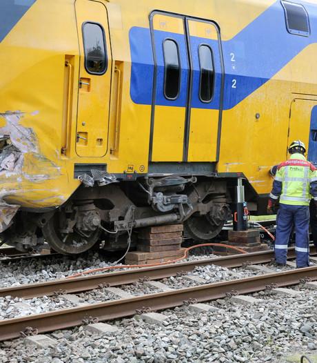Treinongeval Wouw: maandagochtend pas weer treinen tussen Roosendaal en Bergen op Zoom