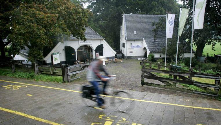 Bezoekerscentrum van Sonsbeek, vlakbij het park. Beeld ANP