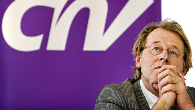 CNV-voorzittter Jaap Smit. Beeld ANP