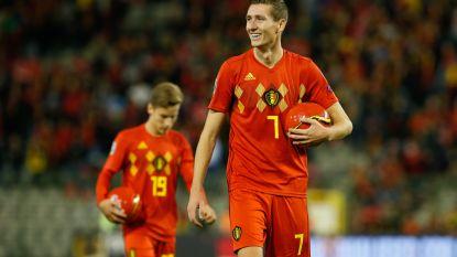 """Vanaken: """"Leuk om voor het eerst te starten"""" - Hazard: """"Kunnen op jongeren rekenen in toekomst"""""""