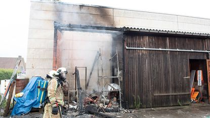 Politie onderzoekt brand in stedelijke loods in Oudenaarde