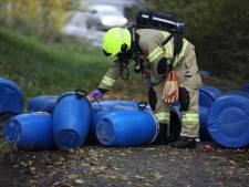 Al vaker drugsvaten gedumpt in bosgebied Mariëndaal