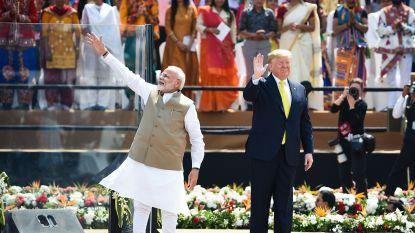 """Trump wil India wapenen tegen China met de """"beste en meest gevreesde wapens"""""""
