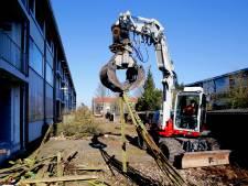 Voorbereidingen voor sloop portiekflats Patersweg gestart