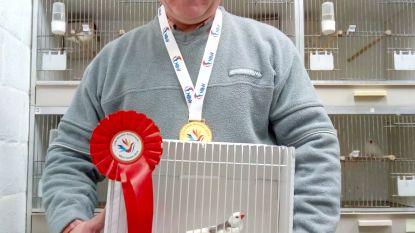 Zebravink van Swa (62) is wereldkampioen