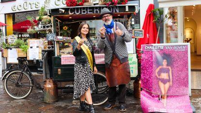 Kandidate Miss België verkoopt 600 euro neuzen voor goed doel