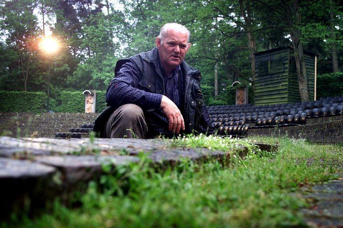 Bert Klerks in het Natuurtheater.