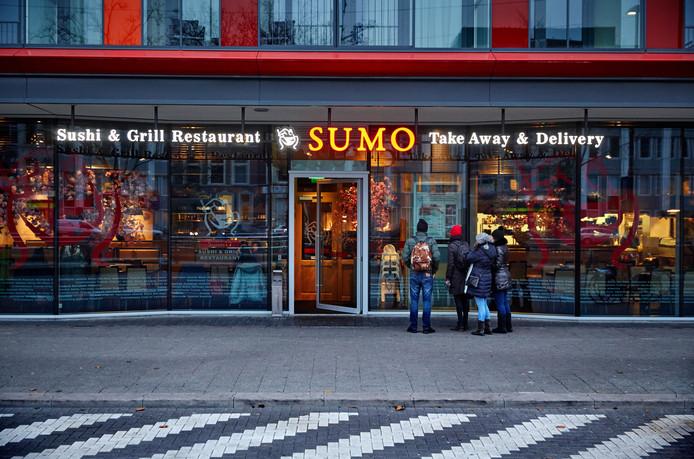 Restaurant Sumo aan de Mauritsweg.