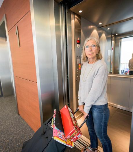 Opnieuw bejaarde bewoner vast in Enschedese lift: 'We zijn het zat'