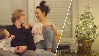 """Kerstboom kijken bij... Stijn, Nuria en baby Viktor:  """"Onze kerstboom groeit elk jaar, net als wij"""""""