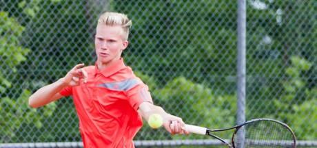 Salland-tennisser Gerritsen loopt hoofdtoernooi NK mis