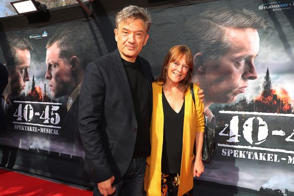 Bart Peeters en partner Anneke
