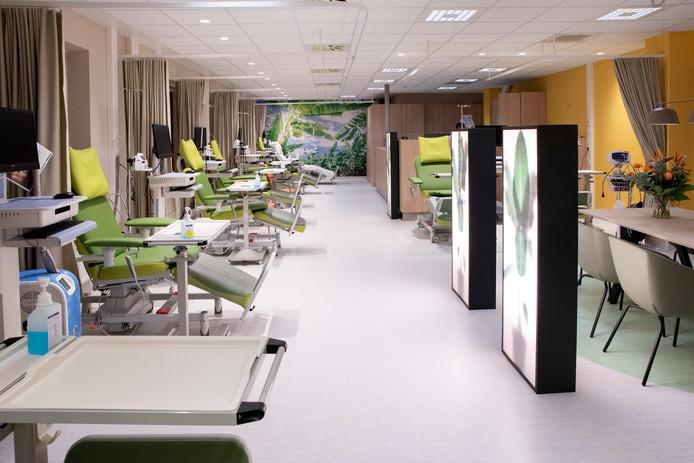 De groene oase in het Maasstad Ziekenhuis.